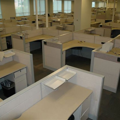 6x6' Used Office Cubicles - Teknion Leverage