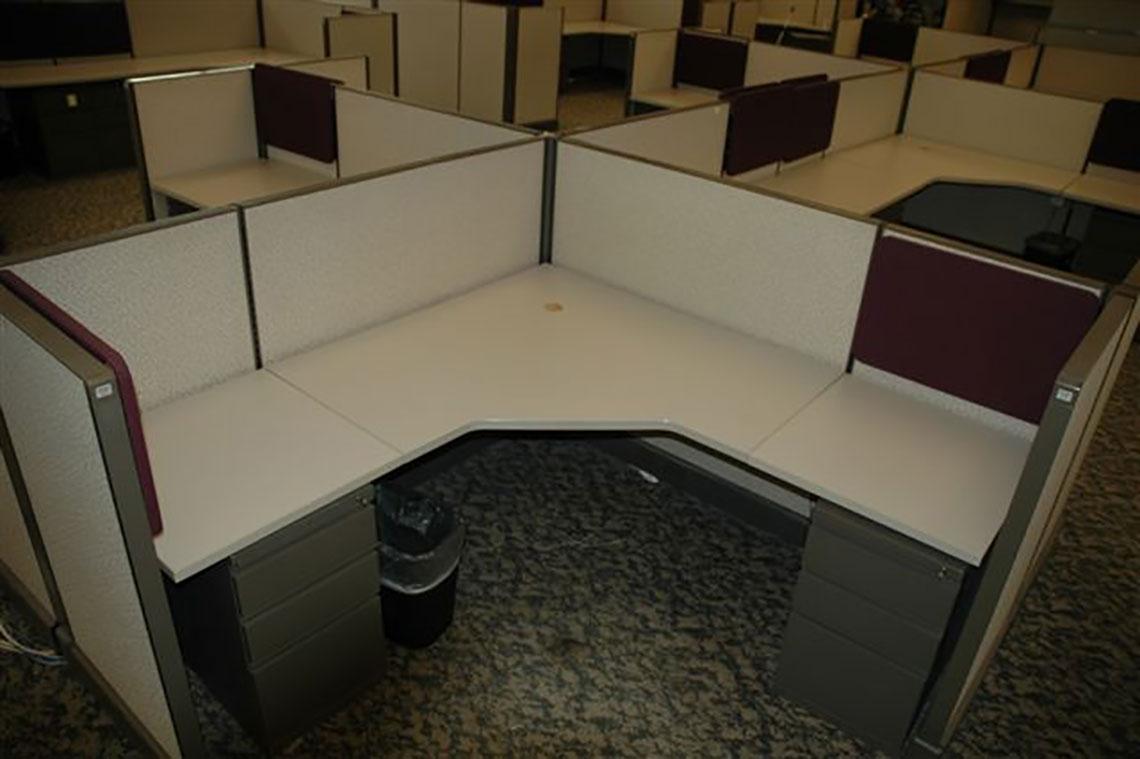 6x6 A02 Brand Used Desks