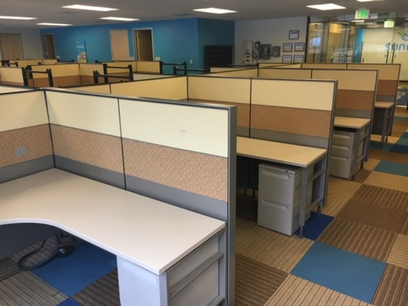 Herman Miller Canvas office cubicles 6'x6'