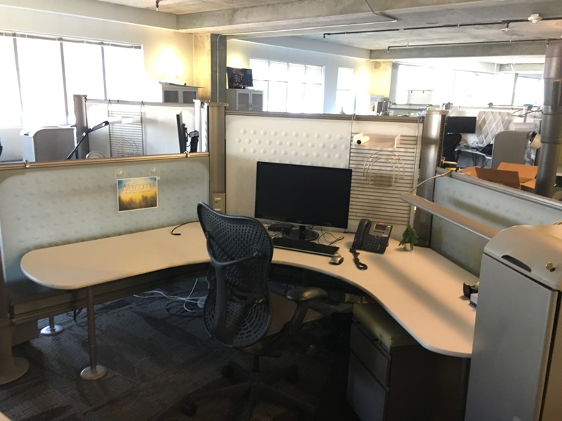 Herman Miller Resolve Office Cubicles