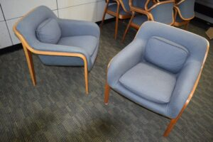Don Pettit Knoll Bentwood Chairs
